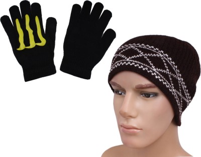 Sushito 2 Biker hand gloves with combo cap Combo
