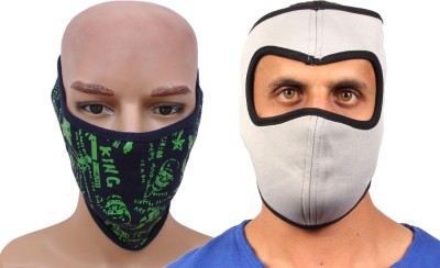 Sushito Byke Rider Facemask Two Combo