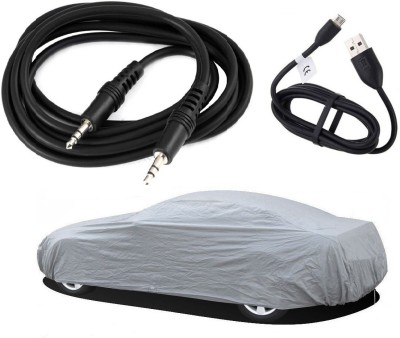 Legemat 1 Car Body Cover, 1 Data Cable, 1 Aux Cable Combo