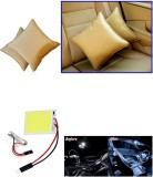 Auto Pearl 1Pcs Beige Car Cushion Pillow...
