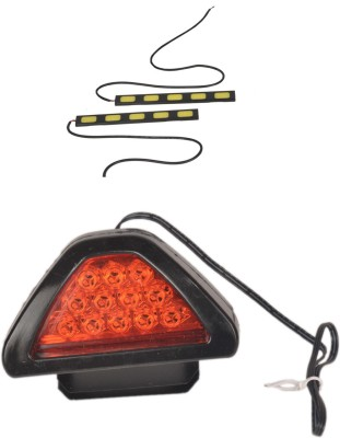 Canabee 1 LED DRL, 1 D Shape Brake Light Red Combo