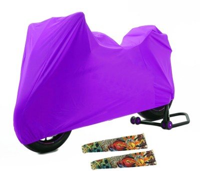Time 1 TVS Max Purple Cover, 1 With 1Pair Sleeves Combo