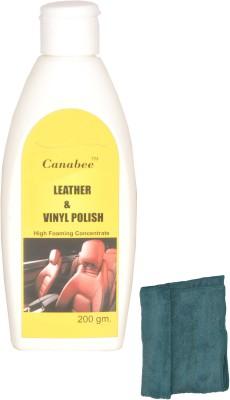 Canabee Leather & Vinyl Polish, Cloth Combo