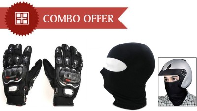 Speedwav 1 pair Gloves, 1 Mask Combo