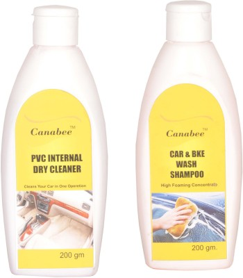 Canabee Shampoo, PVC Internal Cleaner Combo