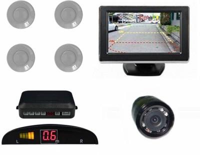 Speedwav 1 Rear View Mirror Screen, 1 4.3 Screen & Camera-Chevrolet Optra SRV Combo