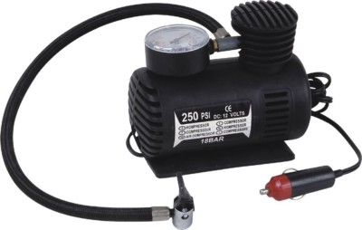 SBA Entice 250 psi Tyre Air Pump for Car & Bike