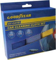 Goodyear Microfiber Vehicle Washing  Cloth(Pack Of 3)