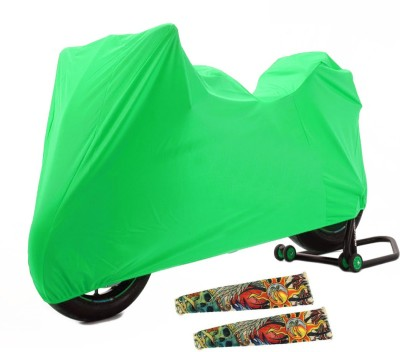 Time 1 Royal Enfield 350 Twin Spark Green Cover, 1 With Arm Sleeves Combo