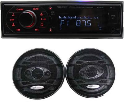 Worldtech 1 FM/USB Player, 1 Speaker Set Combo