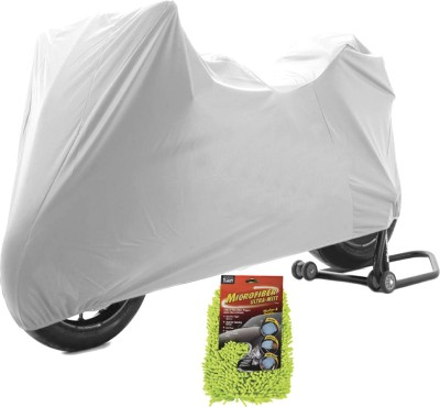 Time 1 TVS Max Silver Cover, 1 With Microfiber Glove Combo