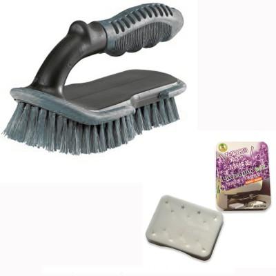 AOKEMAN 3 Car Cleaning Brush, 1 Air Freshener Combo