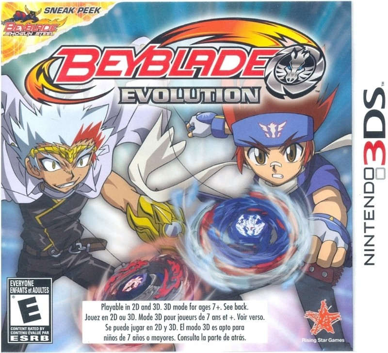 Beyblade Evolution(for 3DS)