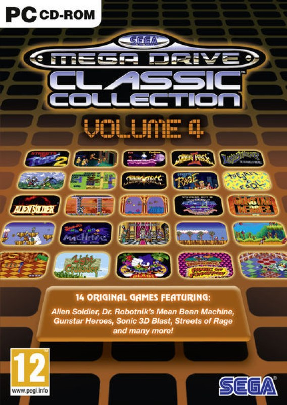 Sega Mega Drive Classic Collection Volume 4(for PC)
