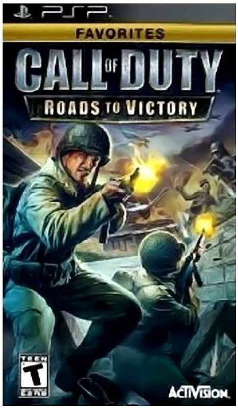 Call Of Duty : Roads To Victory(for PSP)