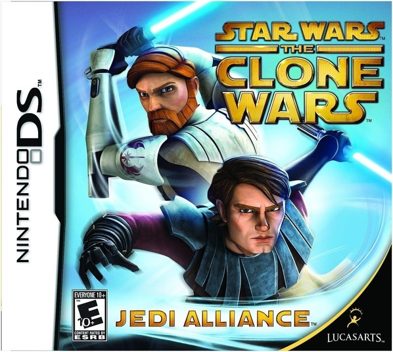 Star Wars The Clone Wars Jedi Alliance(for DS)