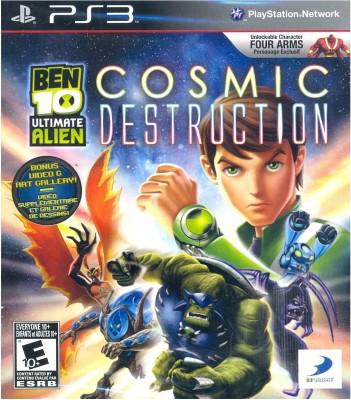 BEN 10 : Ultimate Alien Cosmic Destruction