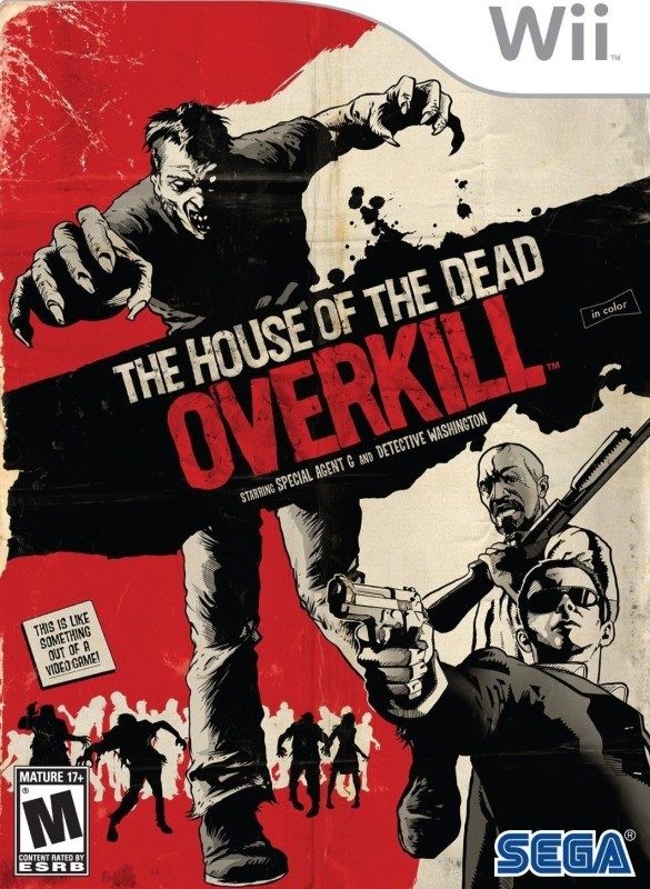 House Of The Dead : Overkill(for Wii)