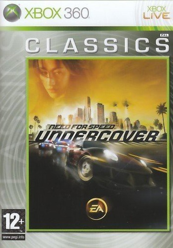 Need For Speed: Undercover(for Xbox 360)
