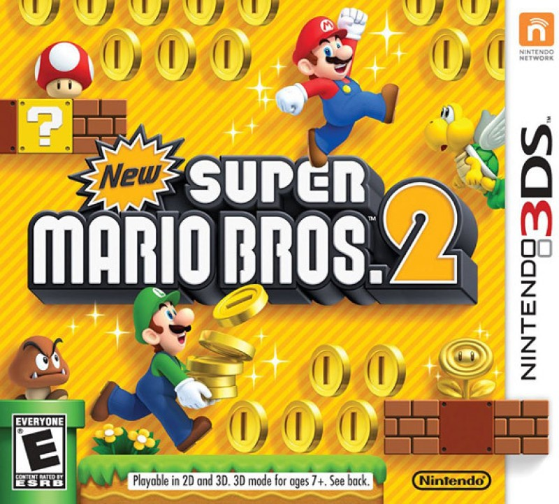 New Super Mario Bros. 2(for 3DS)