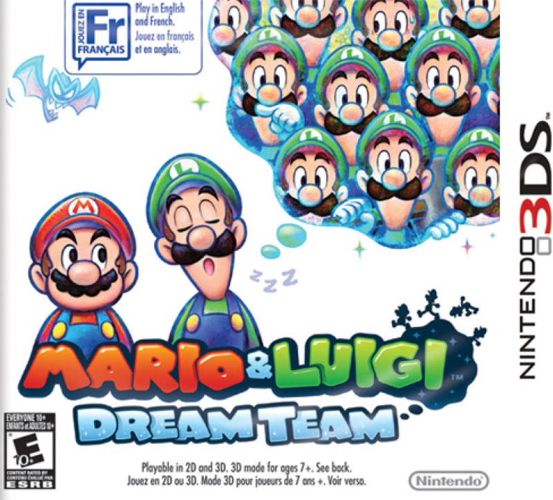 Mario & Luigi Dream Team(for 3DS)