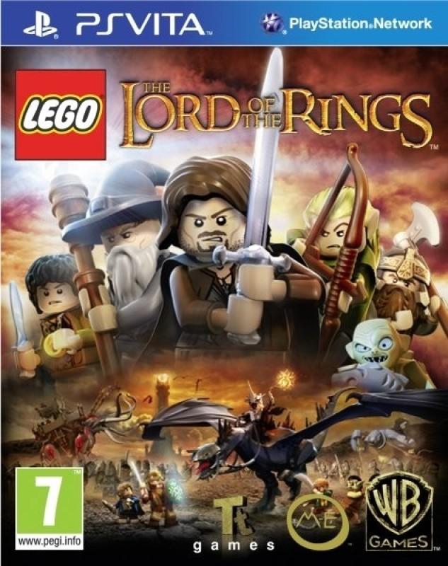 Lego The Lord Of The Rings(for PS Vita)