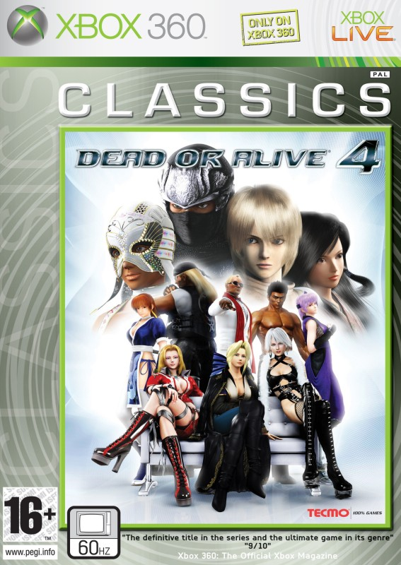 Dead Or Alive 4 (Classics)(for Xbox 360)