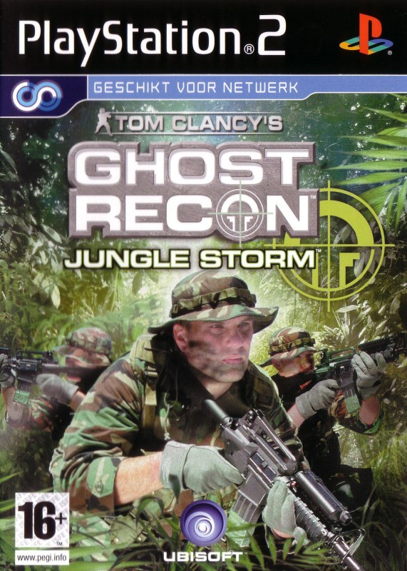 Tom Clancy's: Ghost Recon Jungle Storm(for PS2)