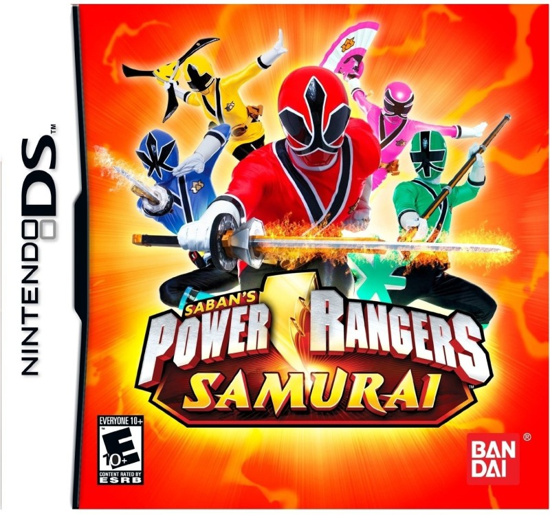 Power Rangers Samurai(for DS)