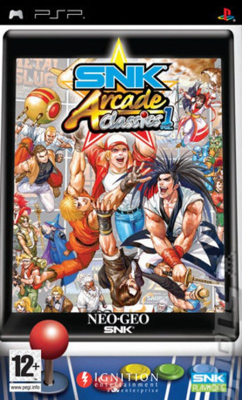 SNK Arcade Classic Volume 1(for PSP)