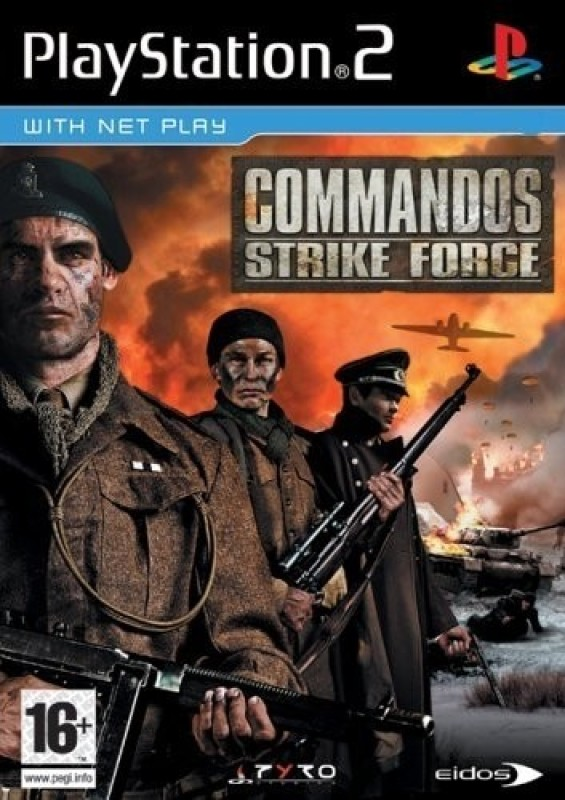 Commandos : Strike Force(for PS2)