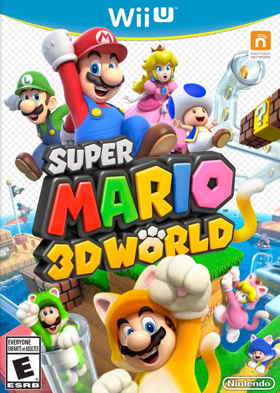 Super Mario 3D World(for Wii U)