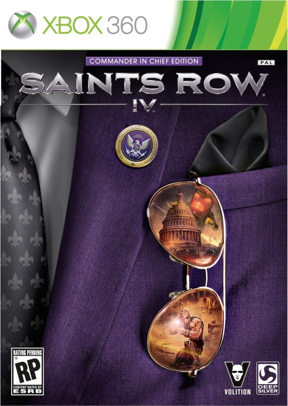 Saints Row IV (Commander-in-Chief Edition)(for Xbox 360)