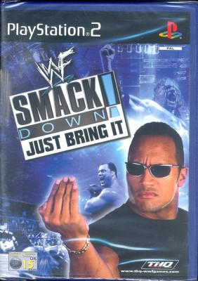 WWF Smack Down : Just Bring It(for PS2)