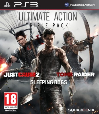 Ultimate Action Triple Pack (Includes 3 Games)