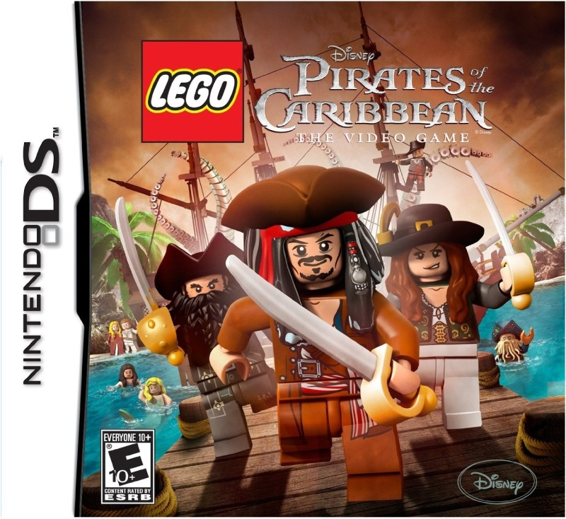 Lego Pirates Of Caribbean(for DS)