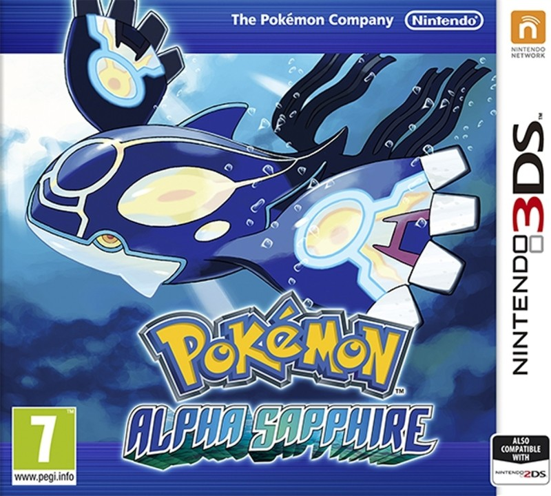 Pokemon Alpha Sapphire(for 3DS)