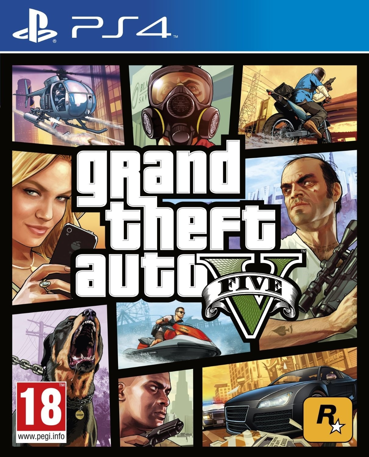 Deals | Just Rs.1,999 Grand Theft Auto V  (for PS4)