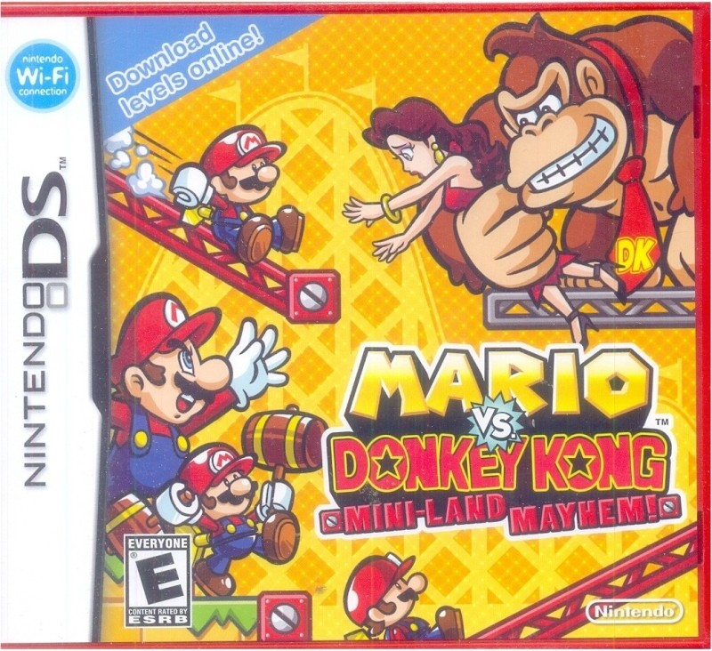 Mario Vs. Donkey Kong Mini-Land Mayhem!(for DS)