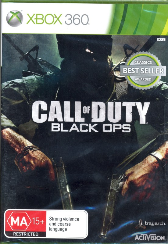 Call Of Duty : Black Ops(for Xbox 360)