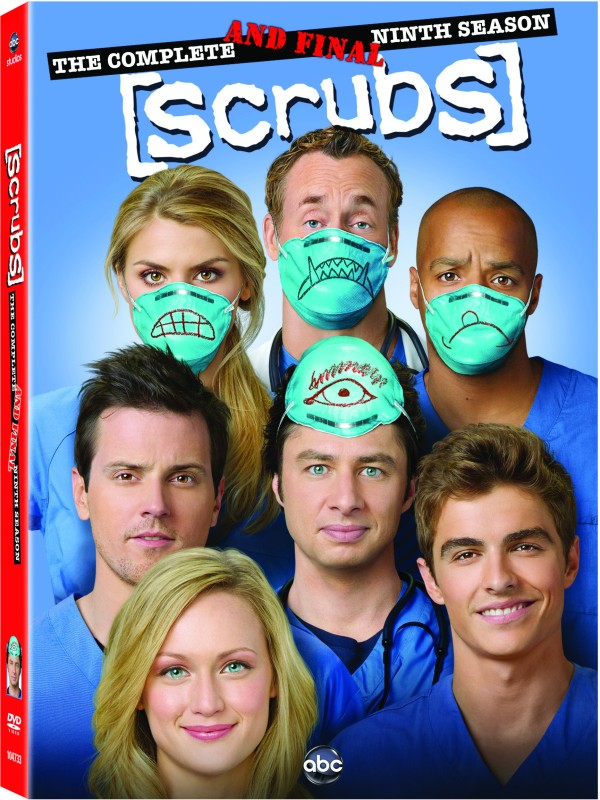 Scrubs 9(DVD English)