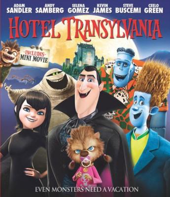 Hotel Transylvania 3D(3D Blu-ray English)