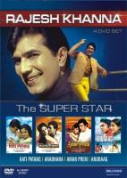 Rajesh Khanna - The Superstar (4 DVD Set)(DVD Hindi)