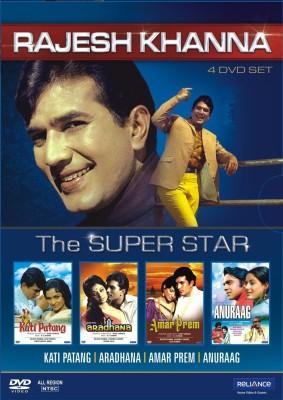 Rajesh Khanna - The Superstar (4 DVD Set)