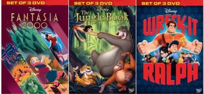 Fantasia 2000 / The Jungle Book / Wreck - It Ralph