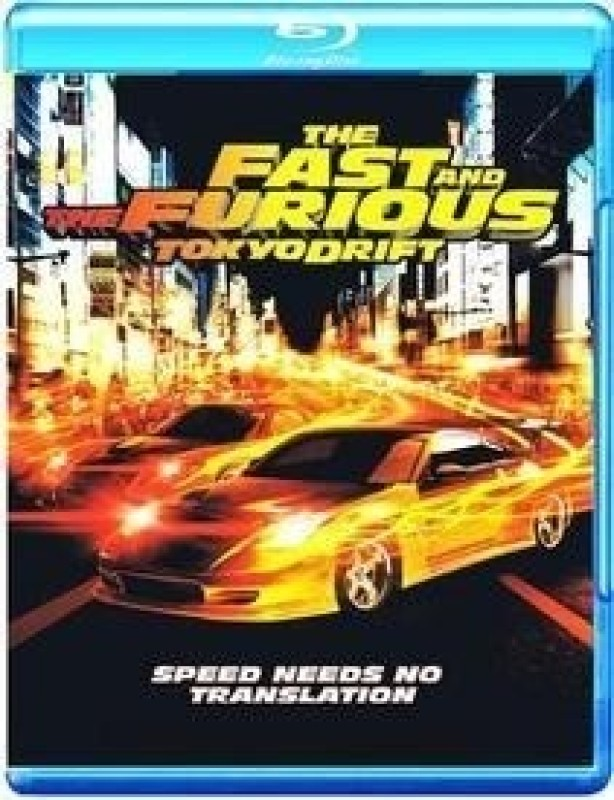 The Fast And The Furious: Tokyo Drift(Blu-ray English)