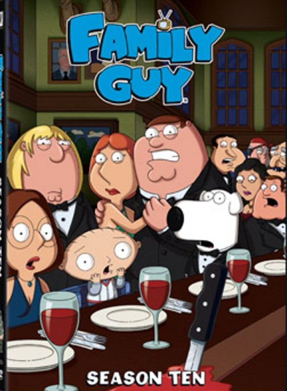 Family Guy - 10 10(DVD English)