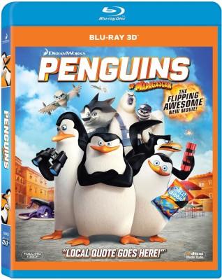 Penguins Of Madagascar(3D Blu-ray English)