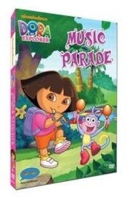 Dora - Music Parade (Free Dora Badge With DVD) Complete