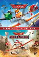 2 - Movie Collection : Planes / Planes : Fire & Rescue(DVD English)